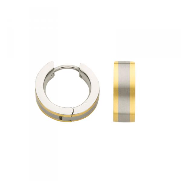 Creole in Titan mit goldenen Streifen