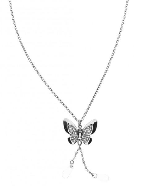 Morelatto Damenkette mit Schmetterling 50108