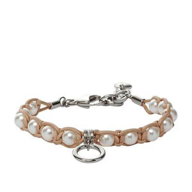 Fossil Damenarmband mit Perlen JF88175040 20093