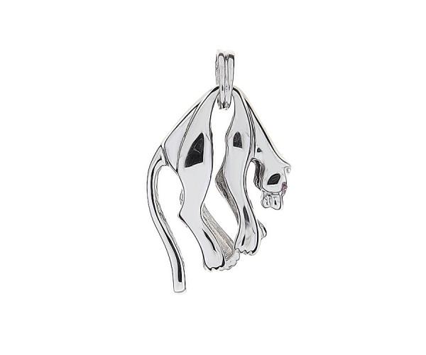 Panther 925'er Silber Anhänger