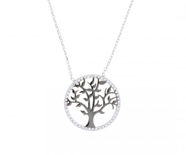 Halskette mit Anhänger Baum des Lebens 50136