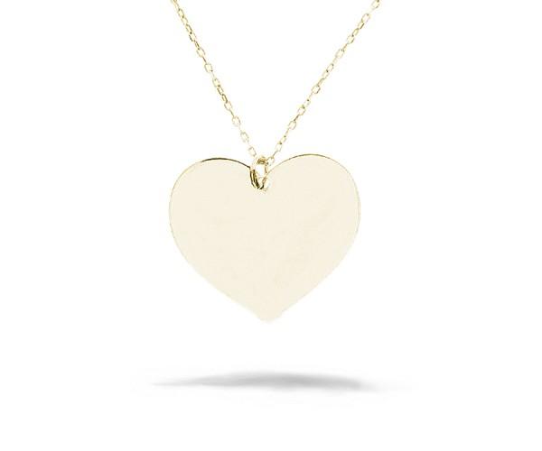 Halskette mit Anhänger in Herz-Form rosé 925'er Silber