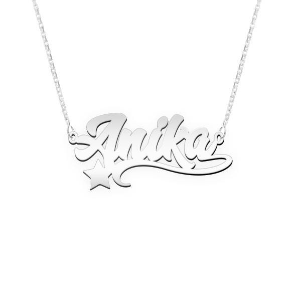 "Namenskette MM003 ""Anika"""