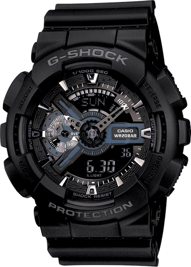 Casio Herrenuhr G-SHOCK GA-110-1BER 60212
