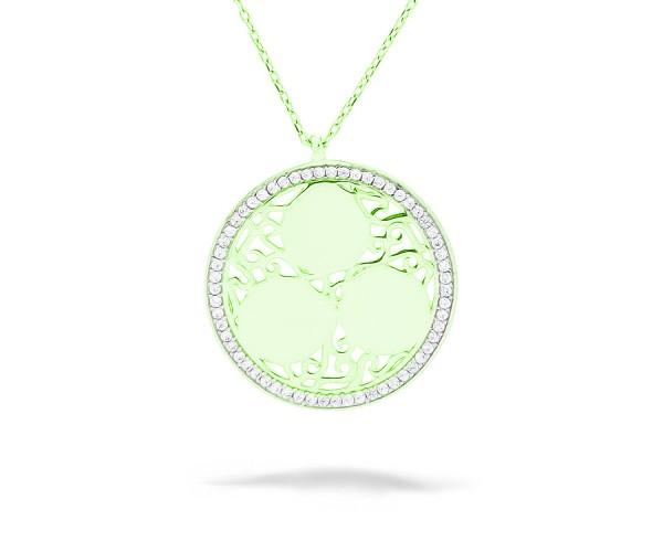 Halskette mit Zirkonia 925'er Silber