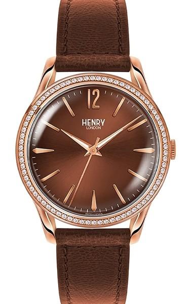 Henry London Damen Armbanduhr HL39-SS-0052