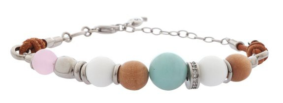 Fossil Damenarmband Coloured Beads JF85660040