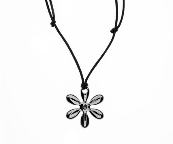 Morelatto Damenkette mit Blumenanhänger 50104