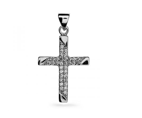 Kreuz Anhänger in 925´er Sterling Silber 30146