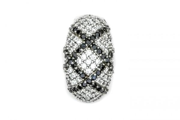 Silberanhänger mit Stein