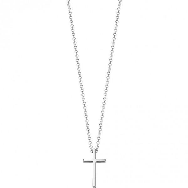 Esprit Damenkette mit Kreuz-Anhänger ESNL92765A420