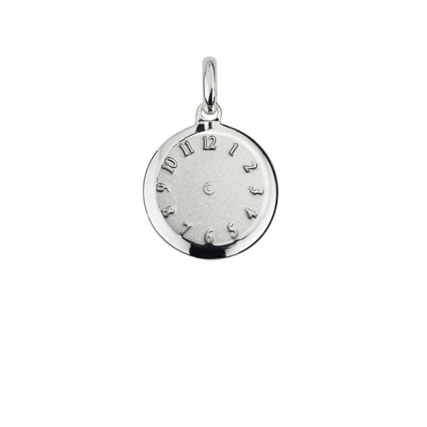 Taufanhänger in 925´er Sterling Silber mit Platz zum eingravieren der Geburtszeit