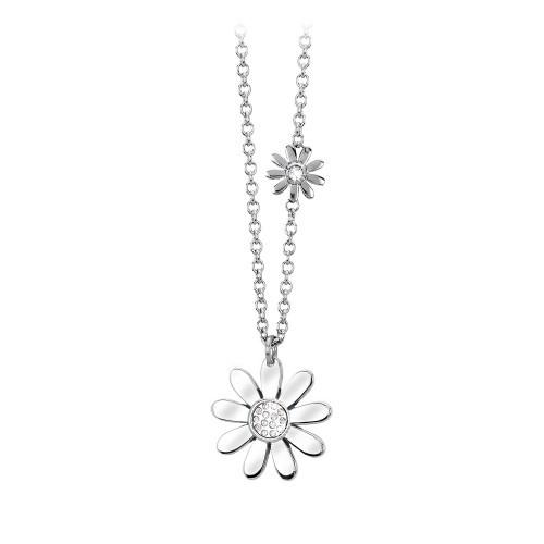 Halskette mit Anhänger Blume