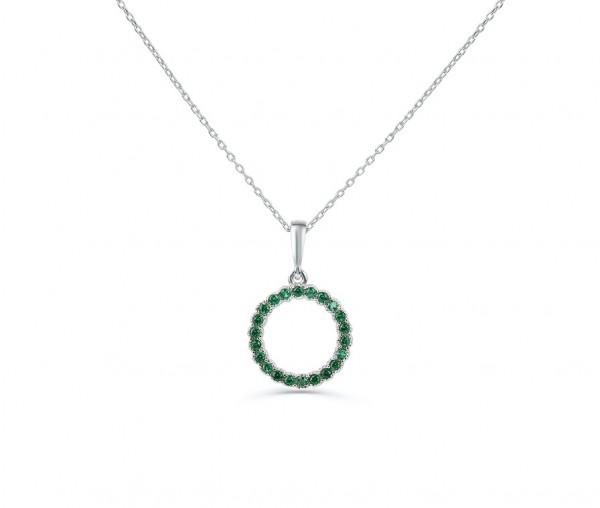 Modische 925´er Sterling Silber Halskette