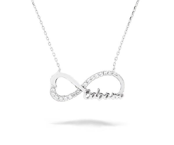 Infinity Unendlich Halskette 'Canim Babam'