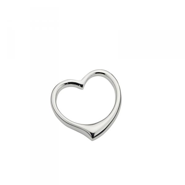 Taufanhänger in 925´er Sterling Silber in Kernlosem Design
