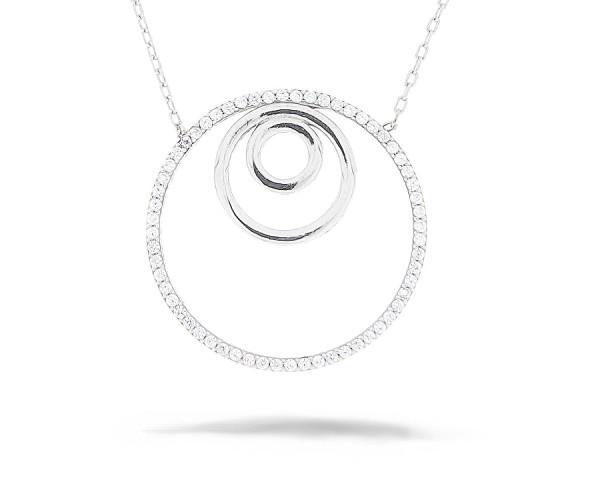 Moderne Halskette 925'er Silber