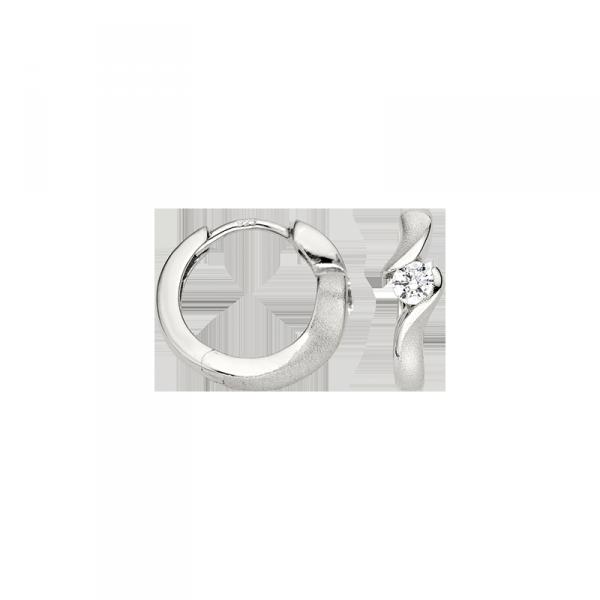 Creole in 925´er Steling Silber in einem sehr elegantem Design