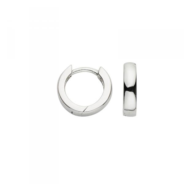 Creole in 925´er Sterling Silber mit kleinem Durchmesser