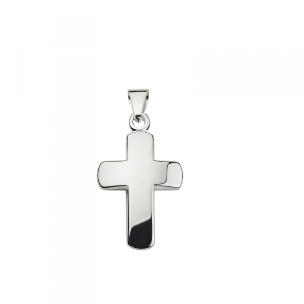 Kreuz Anhänger in 925´er Sterling Silber Hochglanzpoliert CEM