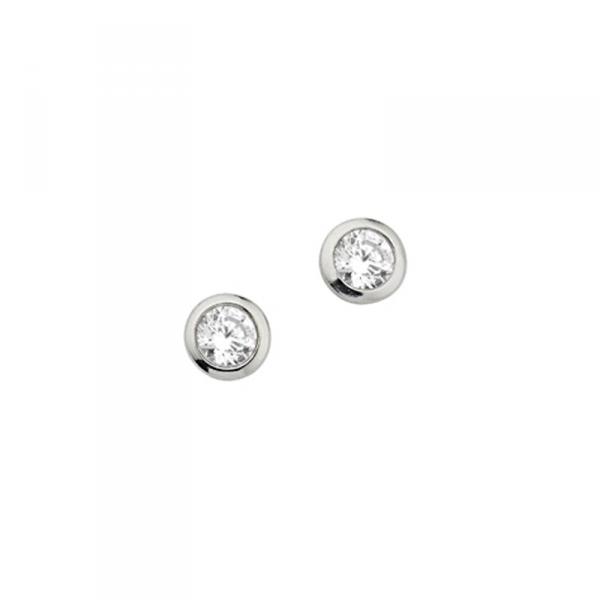 Ohrstecker in 925´er Sterling Silber in überweltigendem Design