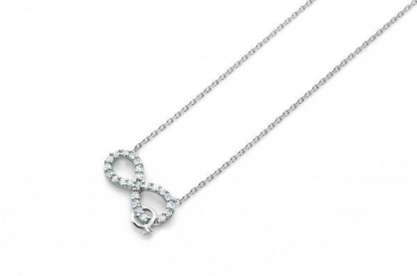 Infinity Unendlich Halskette 50006