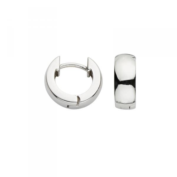 Creole in 925´er Sterling Silber in dickem Design