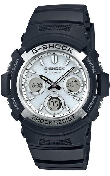 Casio G-SHOCK Solar- und Funkuhr AWG-M100S-7AER