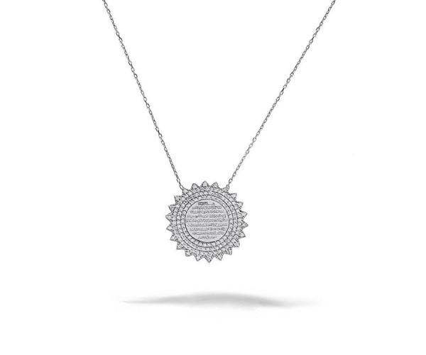 Ayetel-Kürsi Halskette 925'er Silber