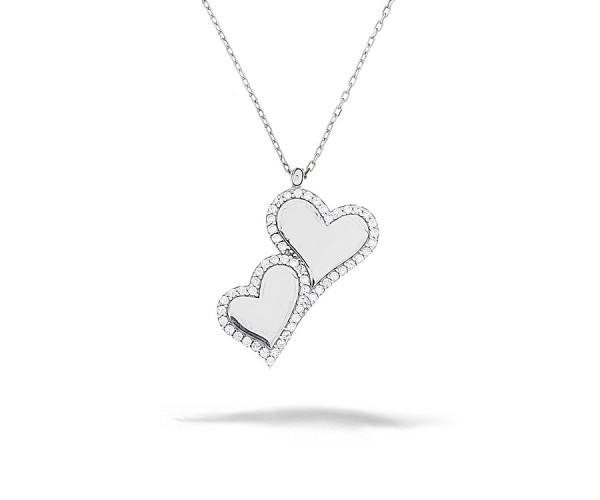 Halskette mit Anhänger 925'er Silber Herz