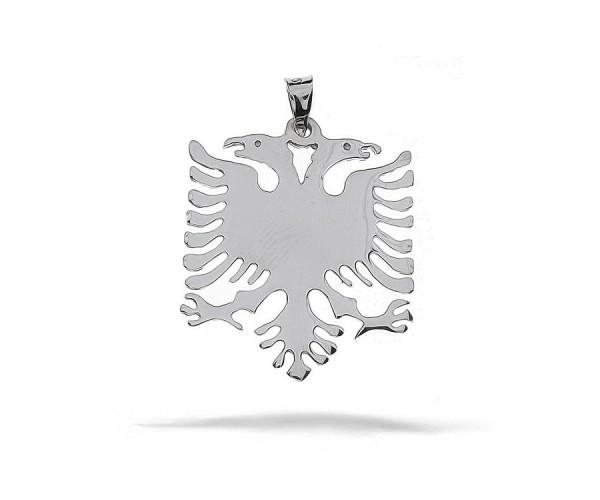 Albanischer Adler 925'er Silber Anhänger