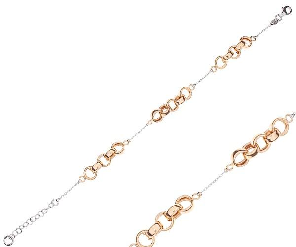CEM Armband aus Edelstahl in Rosé