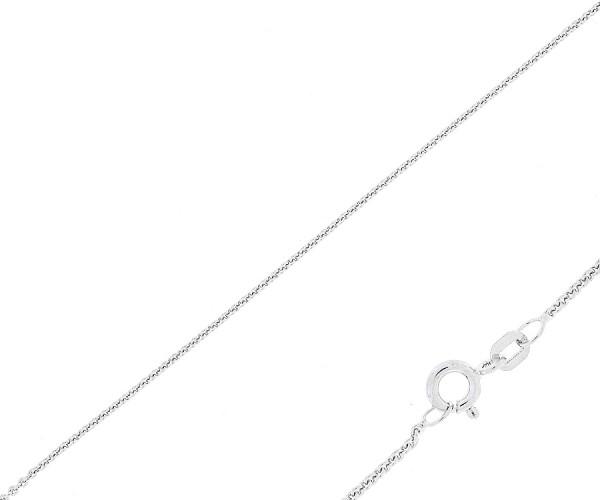 925´er Sterling Silber Halskette mit Herz Anhänger + Gravur