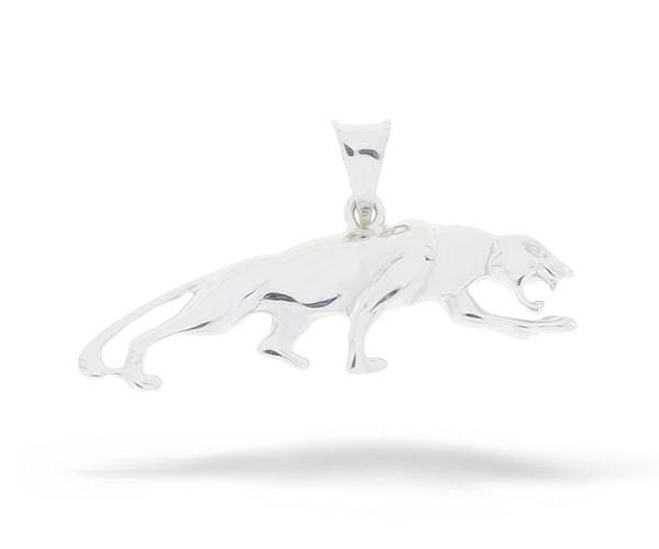 Jaguar Silber Anhänger