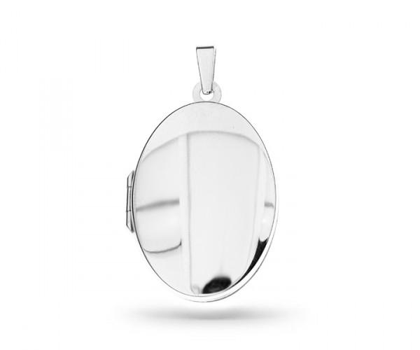 Ovales Silber Medaillon 30070