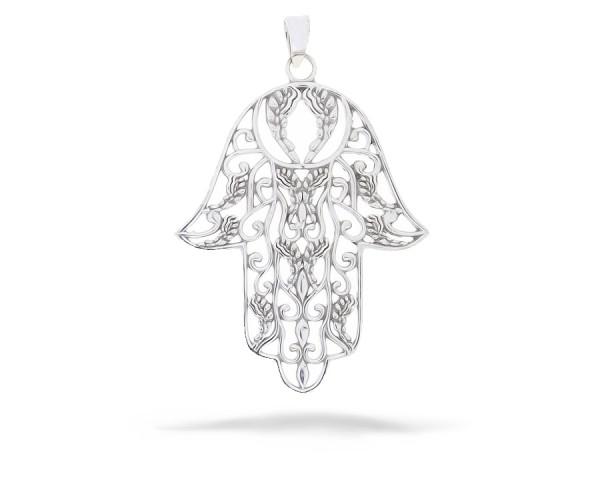 Hand der Fatima Silber Anhänger
