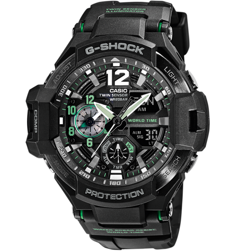 Casio Herrenuhr G-SHOCK GA-1100-1A3ER 60209