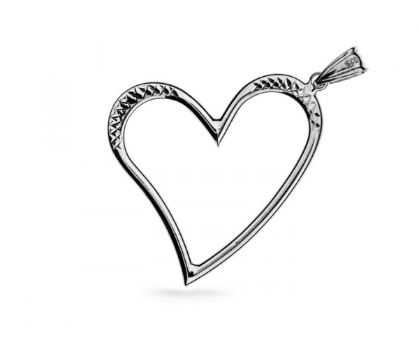 Herzanhänger in 925´er Silber 30147