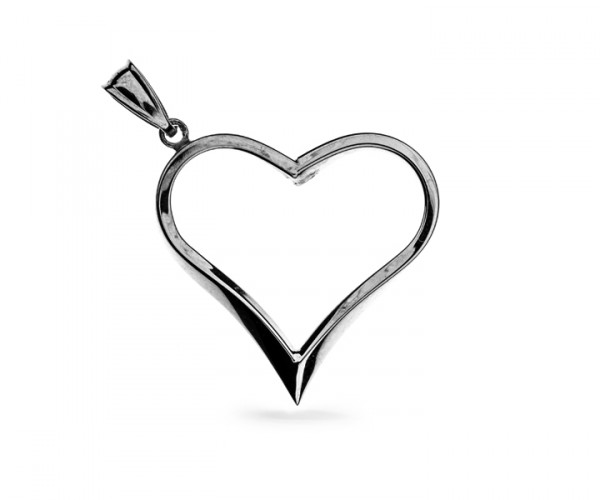 Herzanhänger in 925´er Silber 30148
