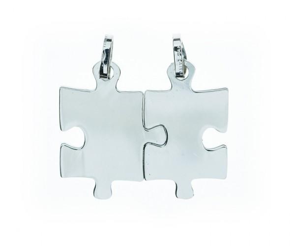 Trennbare Halskette in Silber Puzzle 30112