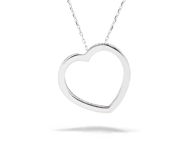 Halskette mit Anhänger Herz 925'er Silber