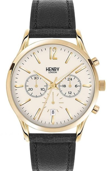 Henry London Herren Armbanduhr HL41-CS-0018