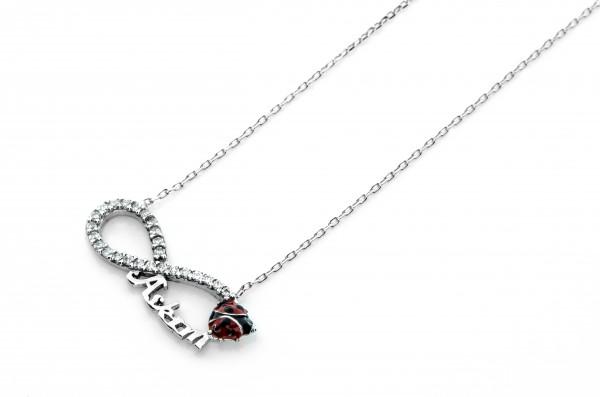 Infinity Unendlich Halskette 50005