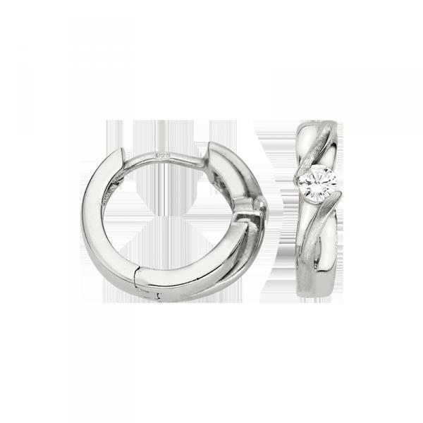 Creole in 925´er Sterling Silber mit ausgezeichnetem Design