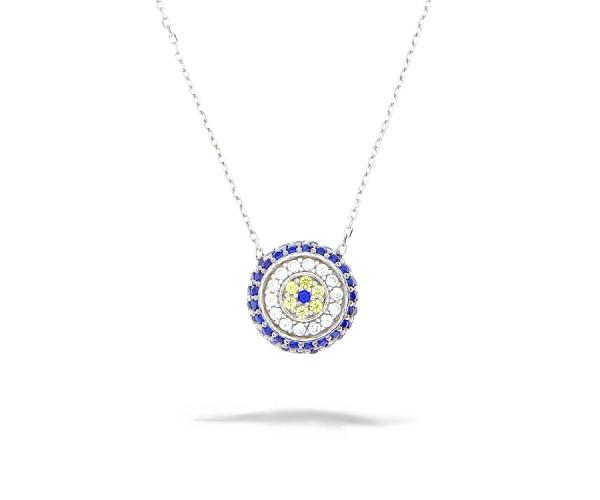 Halskette mit Anhänger 925'er Silber