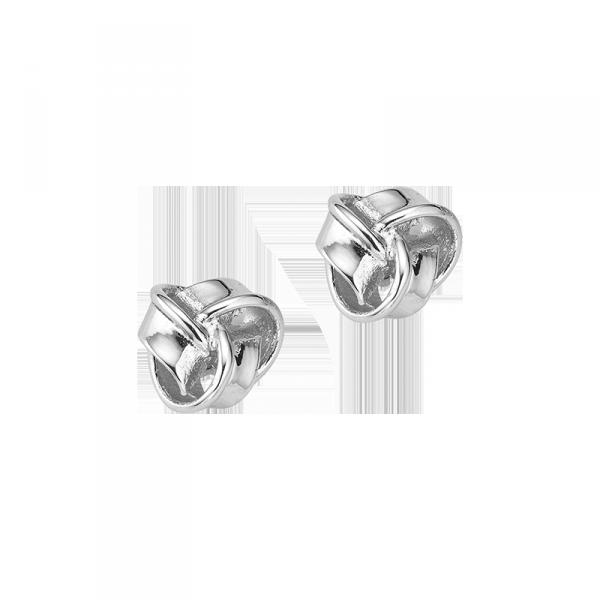 Ohrstecker in 925´er Sterling Silber mit grandiosem Knoten Design