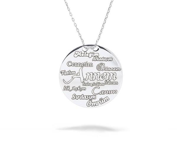 """Halskette """"Annem""""  925'er Silber"""
