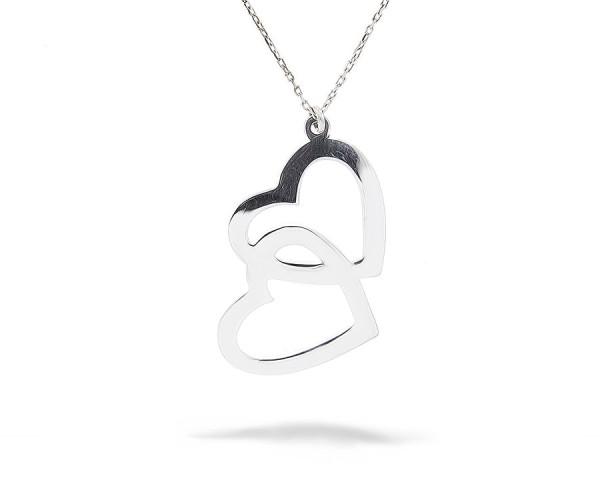 Herz Halskette 925'er Silber