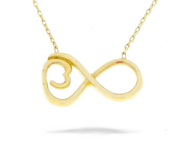 Halskette Infinity in 585er Gold 50246