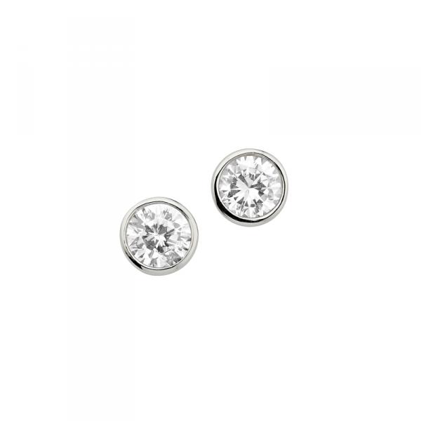 Ohrstecker in 925´er Sterling Silber mit einem auffäligen Design